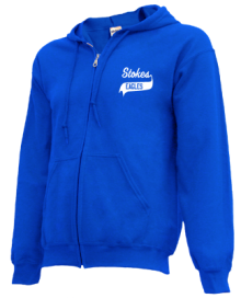Stokes School  Zip-up Hoodies