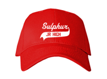 Sulphur Junior High School Baseball Caps