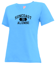 Suncoast School  V-neck Shirts