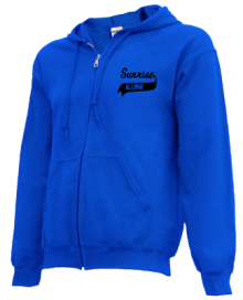 Sunrise Elementary School  Zip-up Hoodies