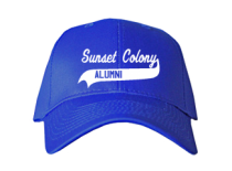 Sunset Colony School  Baseball Caps