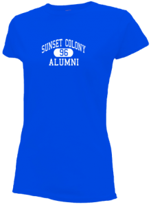 Sunset Colony School  Slimfit T-Shirts