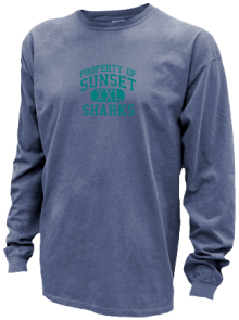 Sunset Elementary School  Pigment Dyed Shirts