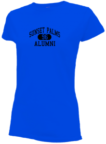 Sunset Palms Elementary School  Slimfit T-Shirts