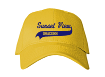 Sunset View Elementary School  Baseball Caps
