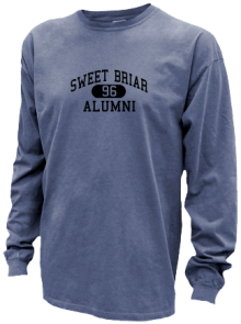Sweet Briar School Number 1  Pigment Dyed Shirts