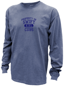 Swift Elementary School  Pigment Dyed Shirts