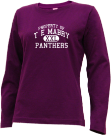 T E Mabry Junior High School Long Sleeve Shirts