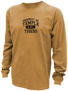 Temple Middle School  Pigment Dyed Shirts