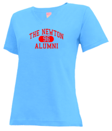 The Newton School  V-neck Shirts