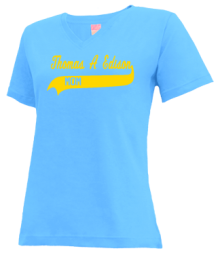 Thomas A Edison Elementary School  V-neck Shirts