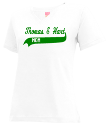 Thomas E Hart Academy  V-neck Shirts