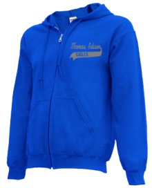 Thomas Edison Elementary School  Zip-up Hoodies