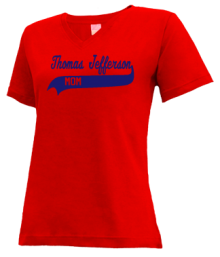 Thomas Jefferson Elementary School #232  V-neck Shirts