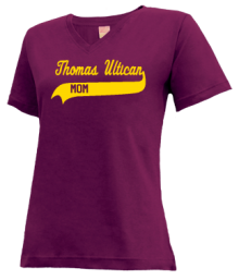 Thomas Ultican Elementary School  V-neck Shirts