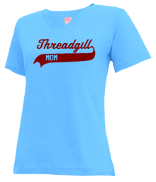 Threadgill Elementary School  V-neck Shirts