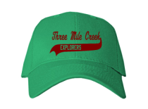 Three Mile Creek Elementary School  Baseball Caps