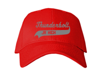Thunderbolt Middle School  Baseball Caps
