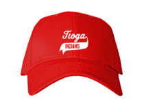 Tioga Junior High School Baseball Caps
