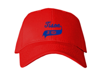 Tison Junior High School Baseball Caps