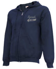 Tyrrell Middle School  Zip-up Hoodies