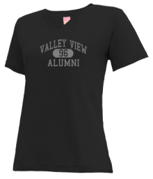 Valley View Junior High School V-neck Shirts