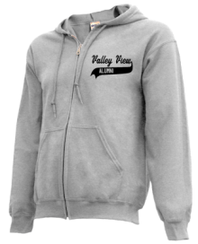 Valley View Junior High School Zip-up Hoodies
