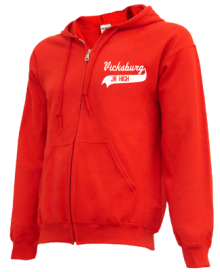 Vicksburg Middle School  Zip-up Hoodies
