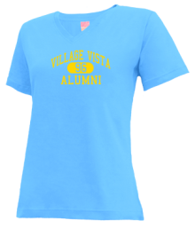 Village Vista Elementary School  V-neck Shirts