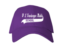 W L Kraxberger Middle School  Baseball Caps