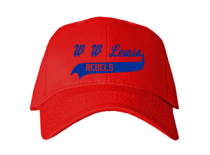 W W Lewis Middle School  Baseball Caps