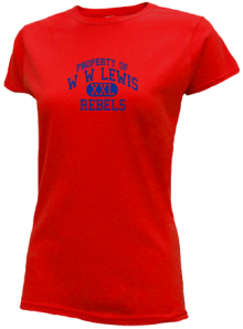 W W Lewis Middle School  Slimfit T-Shirts
