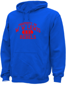 W W Lewis Middle School  Hoodies