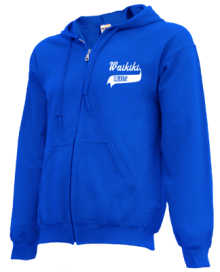 Waikiki Elementary School  Zip-up Hoodies
