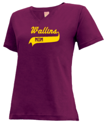 Wallins Elementary School  V-neck Shirts