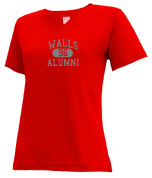 Walls Elementary School  V-neck Shirts