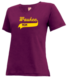 Waukee Middle School  V-neck Shirts