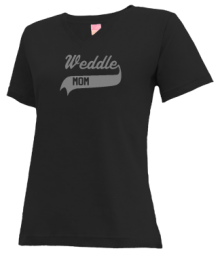 Weddle Elementary School  V-neck Shirts