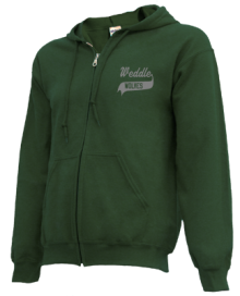 Weddle Elementary School  Zip-up Hoodies