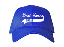 West Homer Elementary School  Baseball Caps
