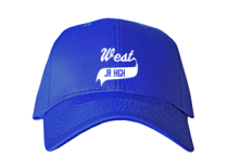 West Junior High School Baseball Caps
