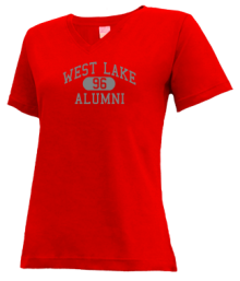 West Lake Middle School  V-neck Shirts