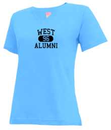 West Middle School  V-neck Shirts