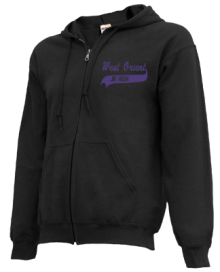 West Orient Middle School  Zip-up Hoodies