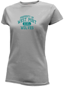 West Port Middle School  Slimfit T-Shirts