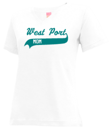 West Port Middle School  V-neck Shirts