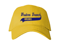 Western Branch Middle School  Baseball Caps