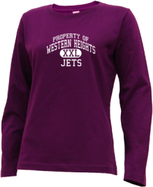 Western Heights Junior High School Long Sleeve Shirts