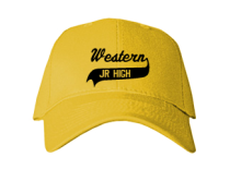 Western Middle School  Baseball Caps