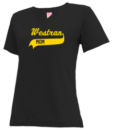 Westran Middle School  V-neck Shirts
